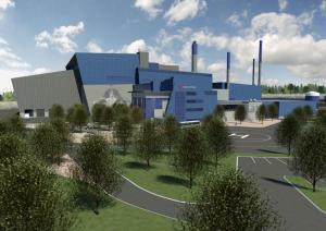 Vantaan Energian jätevoimala.
